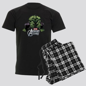 Hulk Fists Men's Dark Pajamas