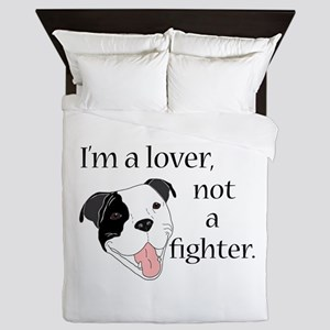 Pitbull Lover Queen Duvet