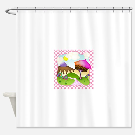 Candy Dreams Shower Curtain