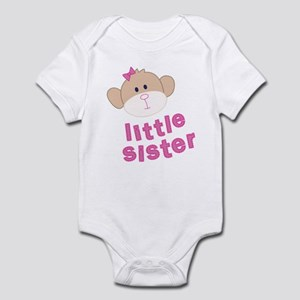 little sister monkey Infant Bodysuit