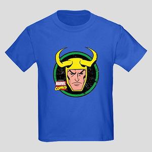 Loki Circle Kids Dark T-Shirt
