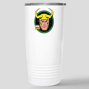 Loki Circle Stainless Steel Travel Mug