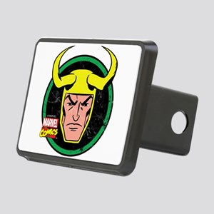 Loki Circle Rectangular Hitch Cover