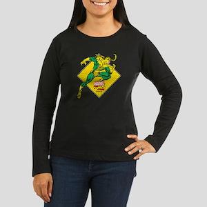 Loki Diamond Women's Long Sleeve Dark T-Shirt