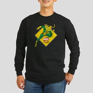 Loki Diamond Long Sleeve Dark T-Shirt