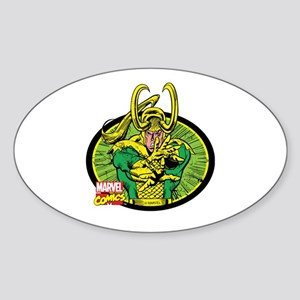 Loki Oval Sticker (Oval)