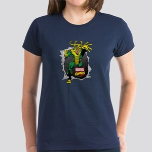 Loki Ripped Women's Dark T-Shirt