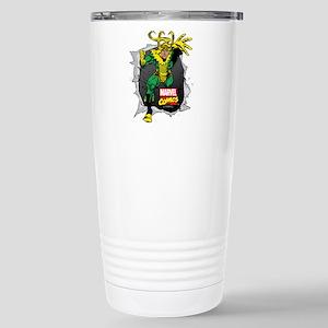 Loki Ripped Stainless Steel Travel Mug