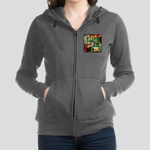 Marvel Loki and Thor Women's Zip Hoodie
