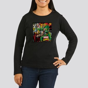 Marvel Loki and T Women's Long Sleeve Dark T-Shirt