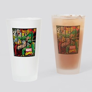Marvel Loki and Thor Drinking Glass