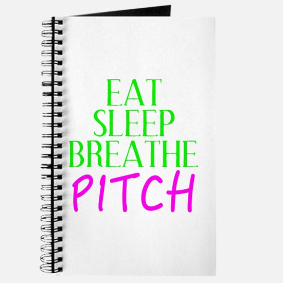 Eat Sleep Breathe Pitch Journal