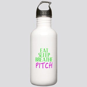 Eat Sleep Breathe Pitch Water Bottle