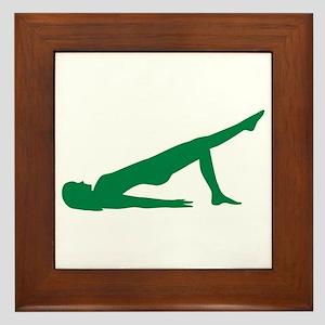 Pilates Framed Tile