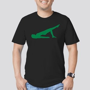 Pilates Men's Fitted T-Shirt (dark)