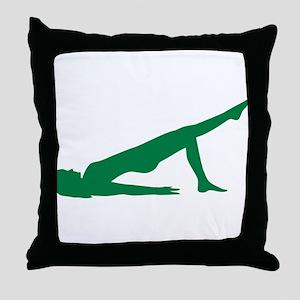 Pilates Throw Pillow
