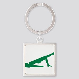 Pilates Square Keychain