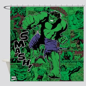 Smash Shower Curtain