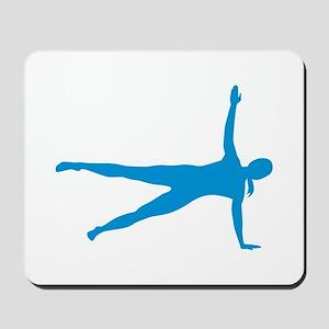Pilates woman Mousepad