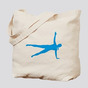 Pilates woman Tote Bag