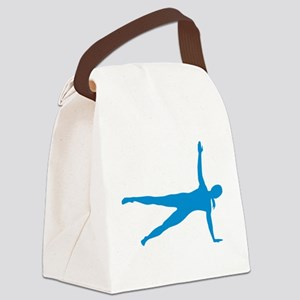 Pilates woman Canvas Lunch Bag