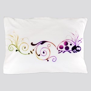 Groovy ladybug with fun tail Pillow Case