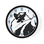 Keeshond Graphics Wall Clock
