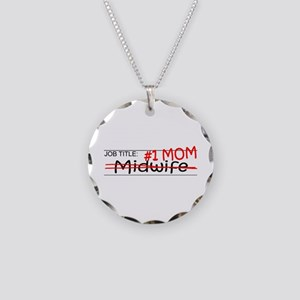 Job Mom Midwife Necklace Circle Charm