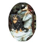 Ophelia & Cavalier (BT) Ornament (Oval)