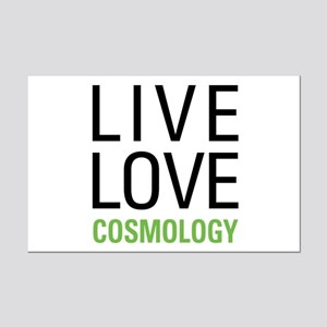 Live Love Cosmology Mini Poster Print
