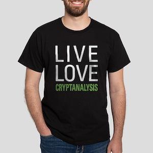 Live Love Cryptanalysis Dark T-Shirt