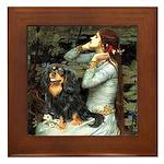Ophelia & Cavalier (BT) Framed Tile
