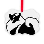 Keeshond Graphics Picture Ornament