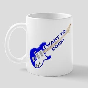 I Want To Rock Mug