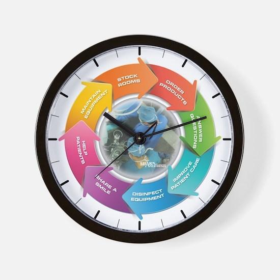 Sharn Tech Day Wall Clock