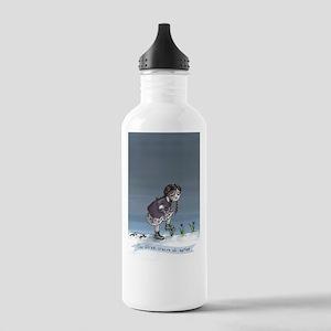 First Crocus Of Spring Water Bottle