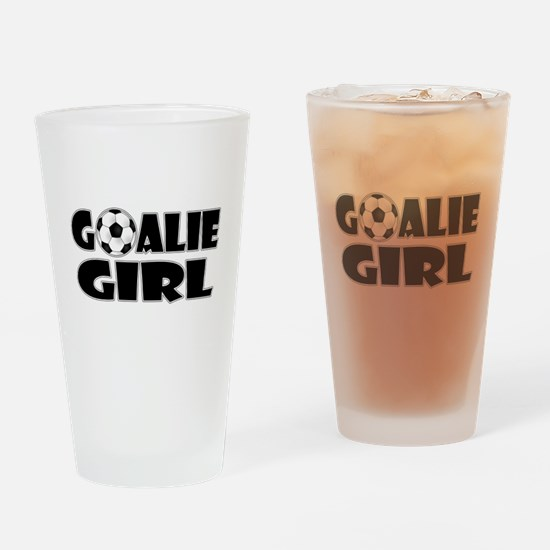 Goalie Girl - Soccer Drinking Glass