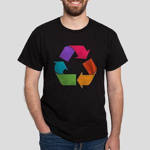 Rainbow Recycle Dark T-Shirt