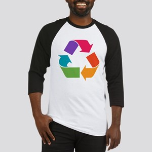 Rainbow Recycle Baseball Jersey