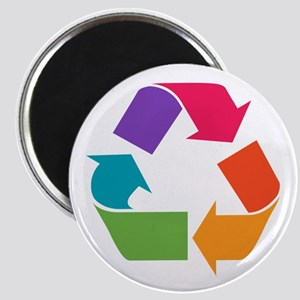 Rainbow Recycle Magnet