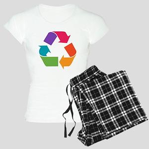 Rainbow Recycle Women's Light Pajamas