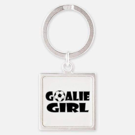 Goalie Girl - Soccer Keychains