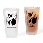 Keeshond Graphics Drinking Glass