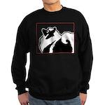 Keeshond Graphics Sweatshirt (dark)
