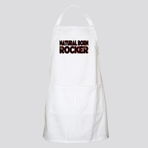 Natural Born Rocker BBQ Apron