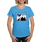 Keeshond Graphics Women's Dark T-Shirt