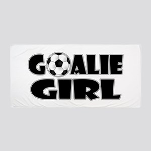 Goalie Girl - Soccer Beach Towel