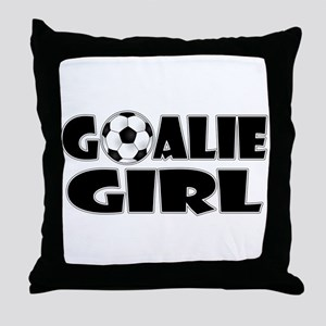 Goalie Girl - Soccer Throw Pillow