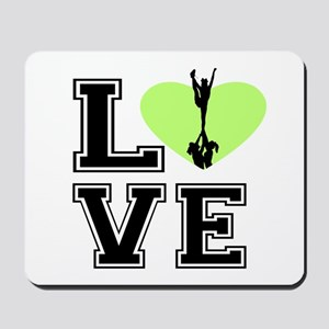 Love Cheerleading Mousepad