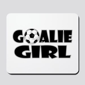 Goalie Girl - Soccer Mousepad